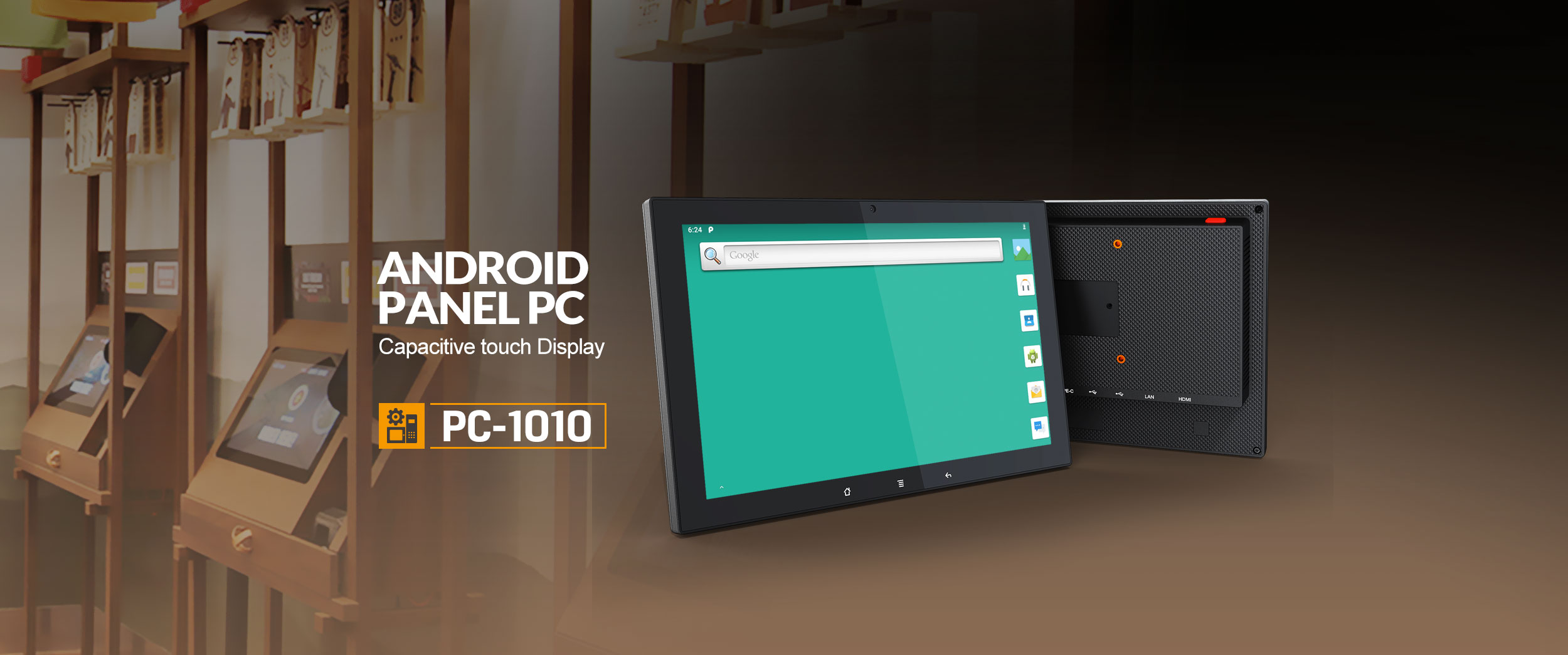 10.1″ ANDROID PANEL PC