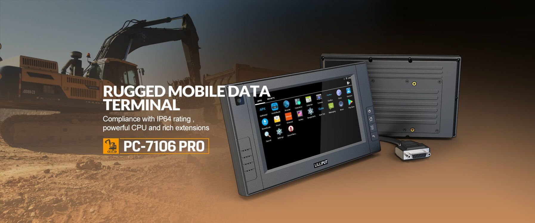 Mobile Data termial vehicle tablet