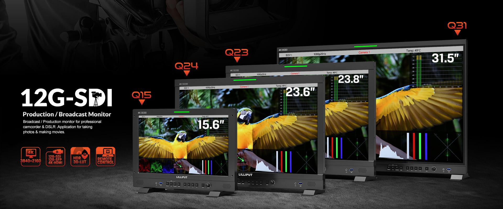 12G-SDI Production monitor