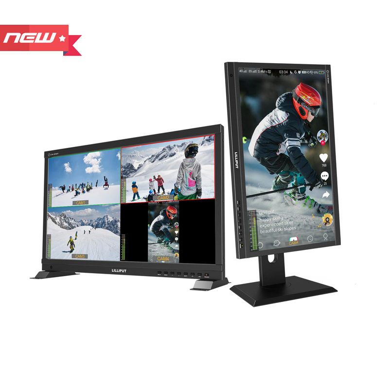 21.5 inch live stream multiview monitor