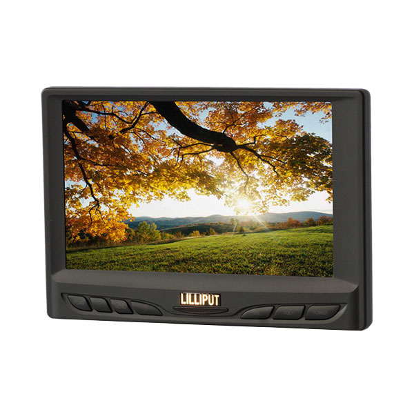 Special Design for Multi Interface Touch Screen Monitor - 629-70NP/C/T_7 inch resistive touch monitor – LILLIPUT Featured Image