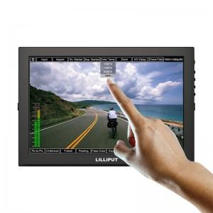 Κορυφαία οθόνη κάμερας TM1018 / S 10,1 ιντσών