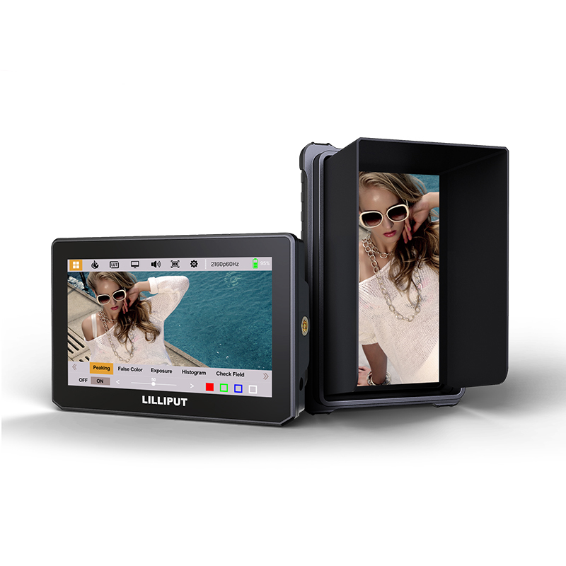 5 inch touch on camera monitor