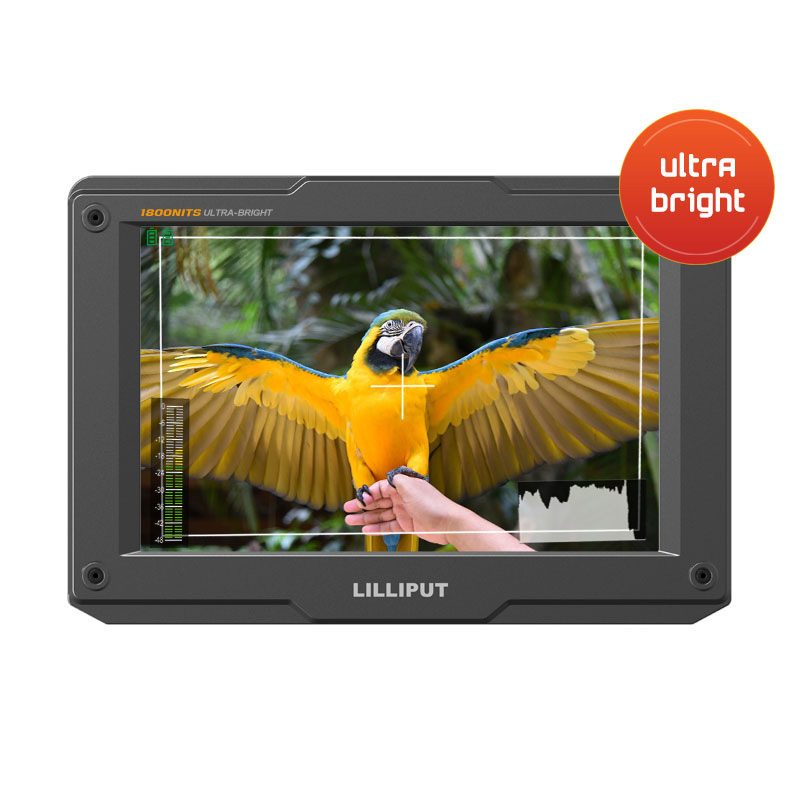 H7_7 inch 1800nits ultra bright HDMI on-camera monitor Featured Image