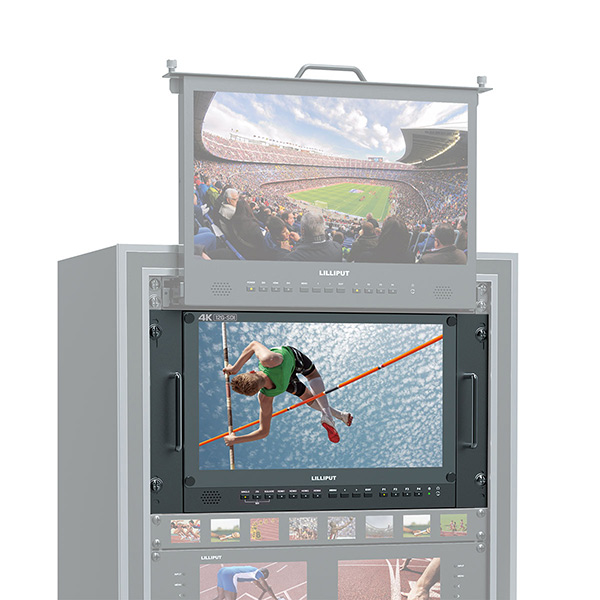 2020 Good Quality Pull Out Monitor Rack - BM150-12G _ 15.6 inch carry on 12G-SDI Broadcast director monitor – LILLIPUT