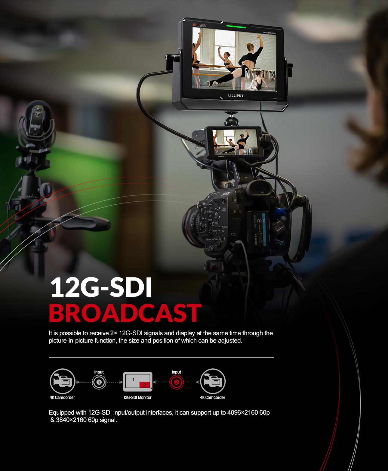 7inch 12G-SDI Monitor