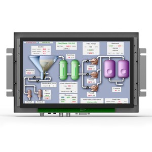 TK1010-NP/C/T _ 10.1 inch industrial open frame touch monitor