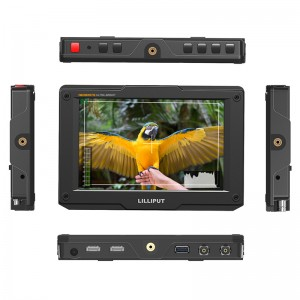 H7S _ 7 inch 1800nits ultra bright 4K on-camera monitor