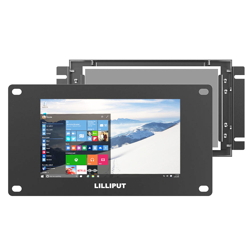 Wholesale Price Industry Open Frame Touch Monitor - TK700-NP/C/T _ 7 inch industrial open frame touch monitor – LILLIPUT