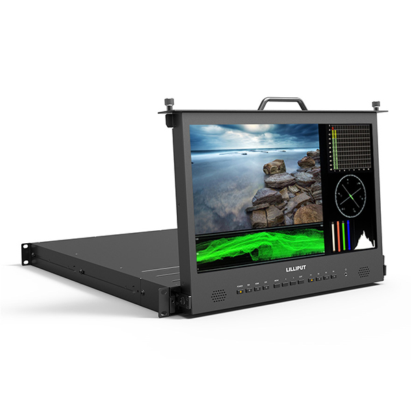 RM-1730S _ 17.3 inch Pull-out rackmount monitor Featured Image