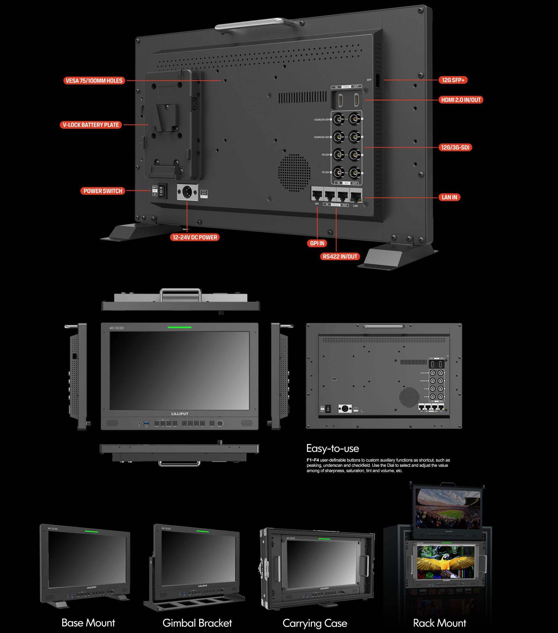 production studio monitor