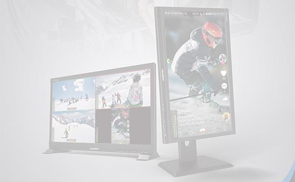 New Release ! Lilliput PVM220S  21.5 inch Live Stream quad split multi view monitor